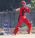 Abraash Khan scored an unbeaten 93, Ireland v Canada, ICC Under-19 World Cup, Warm-up match, January 25, 2016