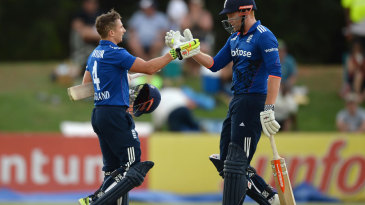 James Taylor gets a handshake for his hundred