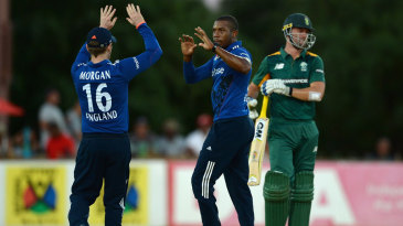 Chris Jordan was among the wickets - and catches - after scoring 33 from 14 balls