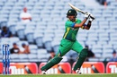 Babar Azam cuts off the front foot, New Zealand v Pakistan, 3rd ODI, Auckland, January 31, 2016