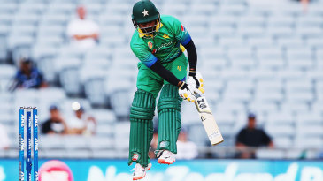 Mohammad Hafeez blazed away to 76 off 60 balls