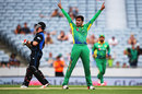 In his comeback innings, Brendon McCullum was out to Mohammad Amir for a first-ball duck, New Zealand v Pakistan, 3rd ODI, Auckland, January 31, 2016