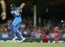 Virat Kohli plays a controlled pull, Australia v India, 3rd T20I, Sydney, January 31, 2016