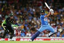 Virat Kohli plays a cut, Australia v India, 3rd T20I, Sydney, January 31, 2016