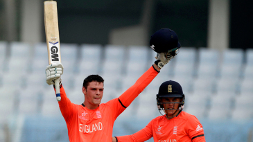 Jack Burnham's unbeaten 106 powered England Under-19s to 288 for 4