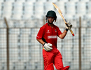 Jeremy Ives provided the sole resistance for Zimbabwe Under-19s with 91, England v Zimbabwe, Under-19 World Cup 2016, Chittagong, January 31, 2016