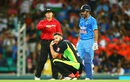 Suresh Raina hit the winning runs off Andrew Tye's bowling, Australia v India, 3rd T20I, Sydney, January 31, 2016