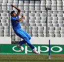 Avesh Khan finished with figures of 3 for 34, India v Nepal, Under-19 World Cup, Mirpur, February 1, 2016