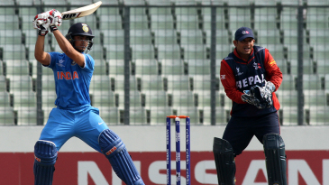 Ishan Kishan chipped in with a 40-ball 52