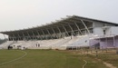 The single stand of the Sheikh Kamal International Cricket Stadium, Cox's Bazar, February 2, 2016