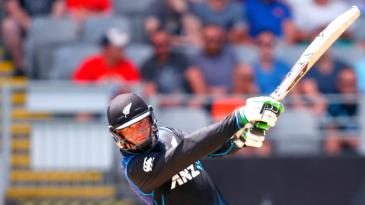 Martin Guptill goes on the attack