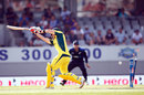 Steven Smith is bowled off the inside edge, 1st ODI, Auckland, February 3, 2016
