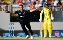 Trent Boult took three wickets to rattle the top order, New Zealand v Australia, 1st ODI, Auckland, February 3, 2016
