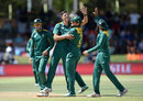 Marchant de Lange picked up a wicket on his comeback, South Africa v England, 1st ODI, Bloemfontein, February 3, 2016