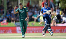 Alex Hales fell to Marchant de Lange for 57, South Africa v England, 1st ODI, Bloemfontein, February 3, 2016