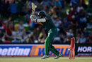 Hashim Amla chopped on in the third over, South Africa v England, 1st ODI, Bloemfontein, February 3, 2016