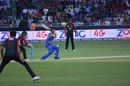 Lendl Simmons' unbeaten 62 sealed the chase for Karachi Kings, Karachi Kings v Lahore Qalandars, PSL 2016, Dubai, February 5, 2016
