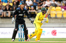 Usman Khawaja made his first ODI fifty, New Zealand v Australia, 2nd ODI, Wellington, February 6, 2016