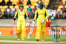 David Warner and Usman Khawaja compiled 122, New Zealand v Australia, 2nd ODI, Wellington, February 6, 2016