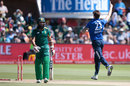 Reece Topley bowled Hashim Amla for 4, South Africa v England, 2nd ODI, Port Elizabeth, February 6, 2016