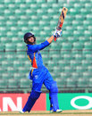 Niko Davin launches one down the ground, India Under-19s v Namibia Under-19s, Quarter-final, Under-19 World Cup, Fatullah, February 6, 2016