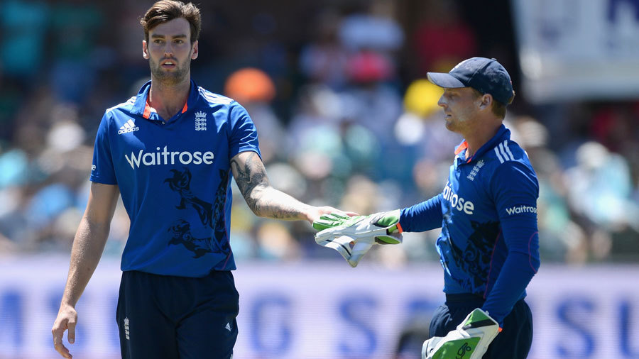 Topley finished with 4 for 50, his best ODI figures, as South Africa totalled 262 for 7