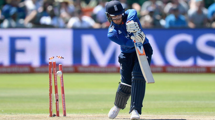 In reply, Jason Roy was bowled by a beauty from Kyle Abbott