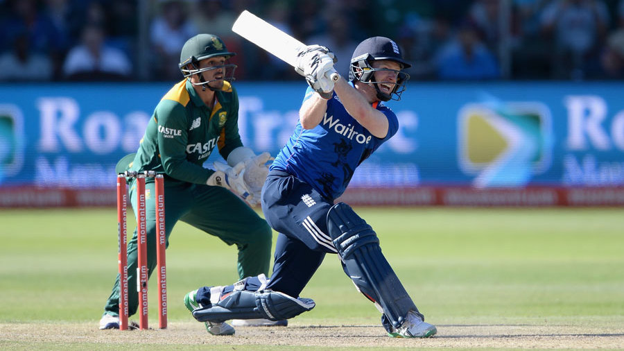 Eoin Morgan restored himself to No. 4 to help pace the chase