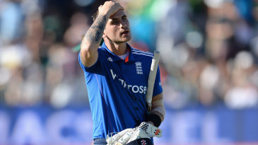 Alex Hales fell for 99