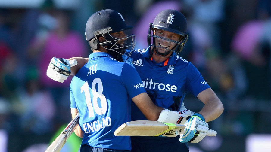 But Jos Buttler and Moeen Ali sealed the win in a flurry of boundaries