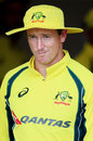 George Bailey and his much-loved floppy hat, New Zealand v Australia, 3rd ODI, Hamilton, February 8, 2016