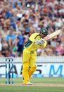Usman Khawaja targets the leg side, New Zealand v Australia, 3rd ODI, Hamilton, February 8, 2016
