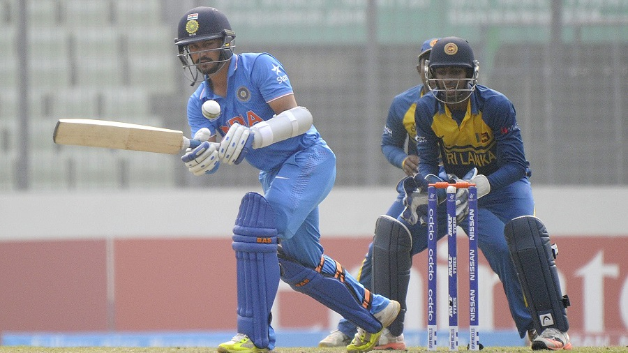 Anmolpreet Singh made a measured fifty
