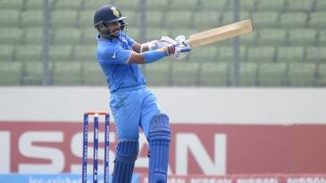 Anmolpreet Singh plays a pull