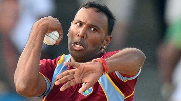 Samuel Badree took three wickets