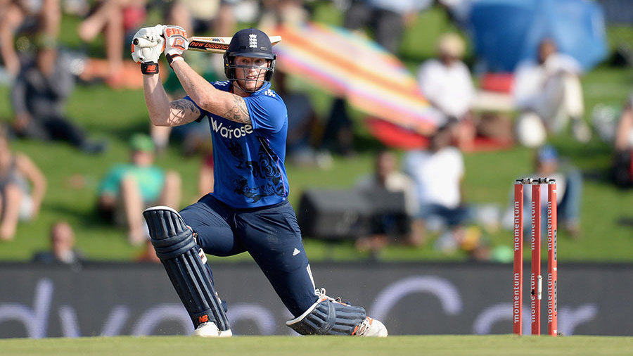 Stokes pushed England on towards 300 with a brisk 53