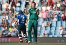 Kyle Abbott dismissed Ben Stokes and Chris Jordan with successive balls, South Africa v England, 3rd ODI, Centurion, February 9, 2016