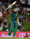 Hashim Amla brought up his century from 109 balls, South Africa v England, 3rd ODI, Centurion, February 9, 2016