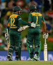Quinton de Kock and Hashim Amla put on 239 for the first wicket, South Africa v England, 3rd ODI, Centurion, February 9, 2016