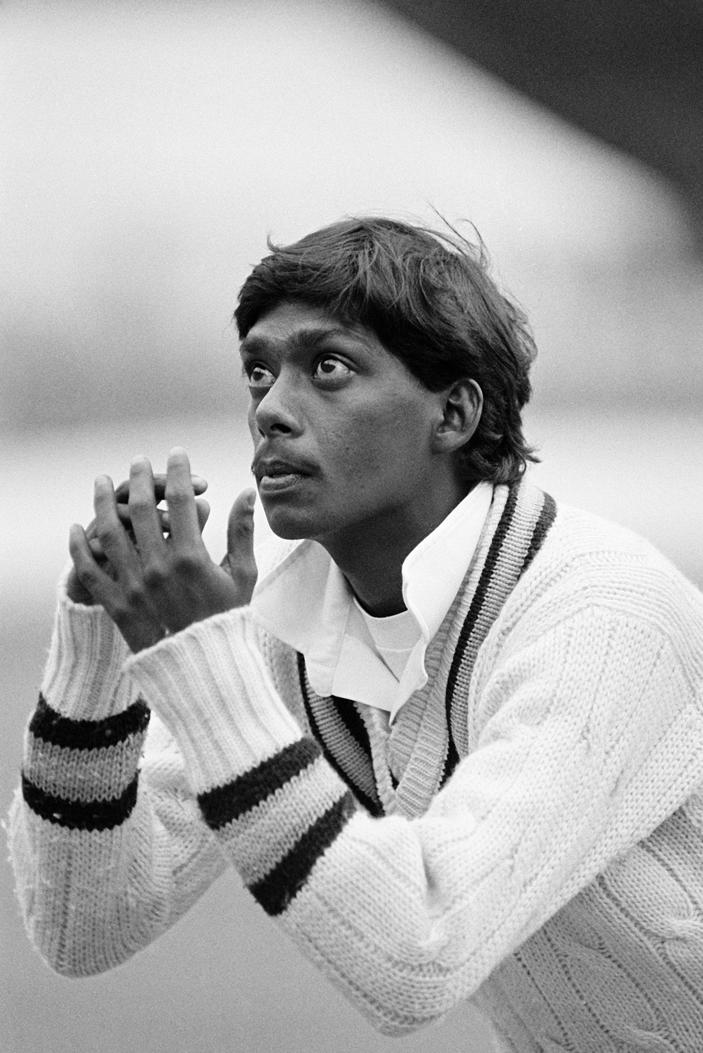 Sivaramakrishnan turned out for the Lavinia Duchess of Norfolk XI against the Australians in Arundel during the 1985 Ashes