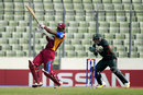 Shimron Hetmyer pulls on his way to a half-century, Bangladesh Under-19s v West Indies Under-19s, Under-19 World Cup, semi-final, Dhaka, February 11, 2016