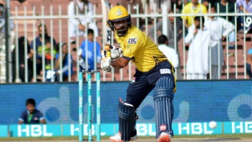 Mohammad Hafeez struck a rapid fifty