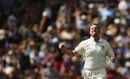 Peter Siddle removed Kane Williamson off his second ball of the match, New Zealand v Australia, 1st Test, Wellington, 1st day, February 12, 2016,