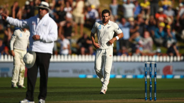 Adam Voges was bowled, but umpire Richard Illingworth wrongly called it a no-ball