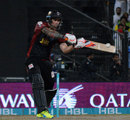 Cameron Delport blasted his third half-century of the season, Lahore Qalandars v Peshawar Zalmi, Pakistan Super League, Sharjah, February 13, 2016