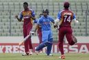 Ishan Kishan was dismissed by Alzarri Joseph, India v West Indies, final, Under-19 World Cup, Mirpur, February 14, 2016