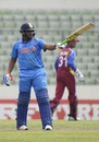 Sarfaraz Khan made a fighting fifty, India v West Indies, final, Under-19 World Cup, Mirpur, February 14, 2016