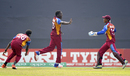 Chemar Holder celebrates after taking a wicket, India v West Indies, Under-19 World Cup 2016, final, Mirpur, February 14, 2016