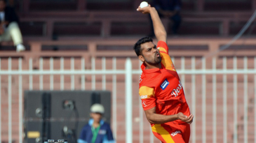Imran Khalid was the most successful bowler for Islamabad United with returns of 2 for 19