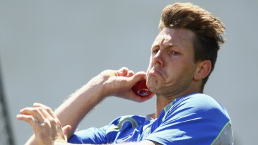 James Pattinson toiled hard in the nets